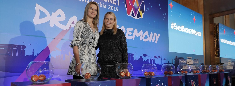 FIBA realiza sorteito dos grupos para o EuroBasket 2019
