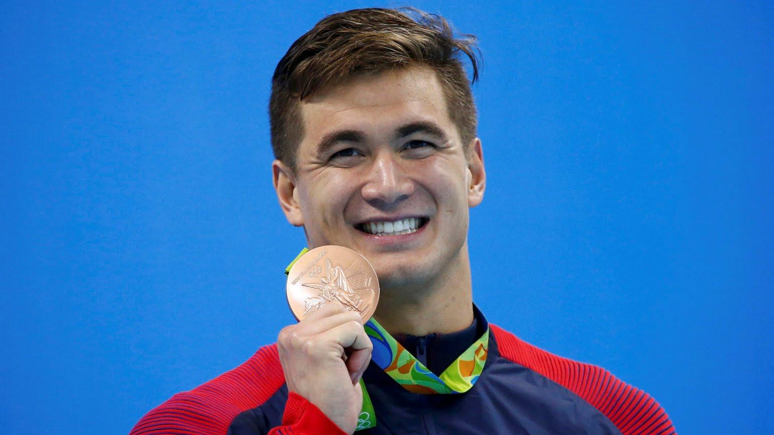 USA Swimming Nadador estadunidense Nathan Adrian durante os Jogos Olímpicos do Rio de Janeiro.