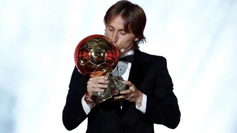 Modric vence Bola de Ouro; Neymar é décimo segundo
