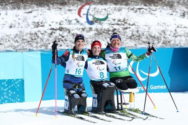 Paralimpíadas de Inverno 2018: medalhistas do biathlon