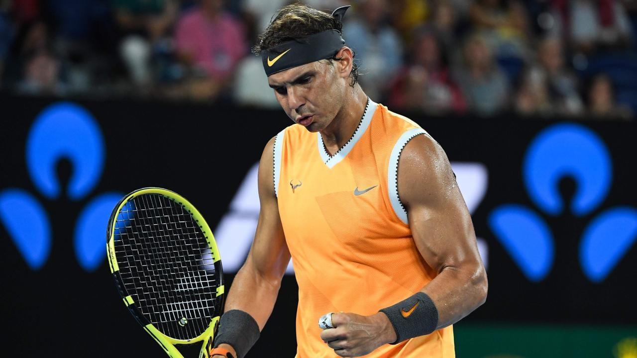 Rafael Nadal está de volta à semifinal do AUS Open.