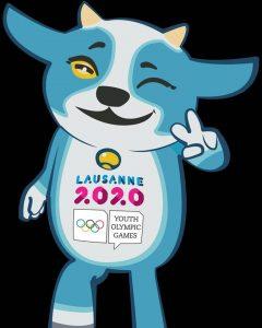 Yodli é o mascote oficial dos Jogos Olímpicos da Juventude de Lausanne 2020. (FOTO: Lausanne 2020)