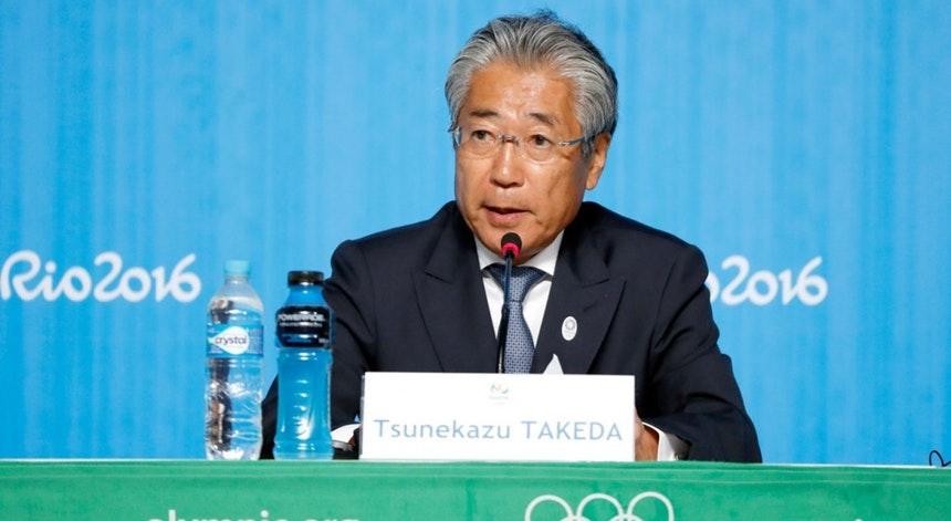 Tsunekazu Takeda é o presidente do CE de Tóquio 2020