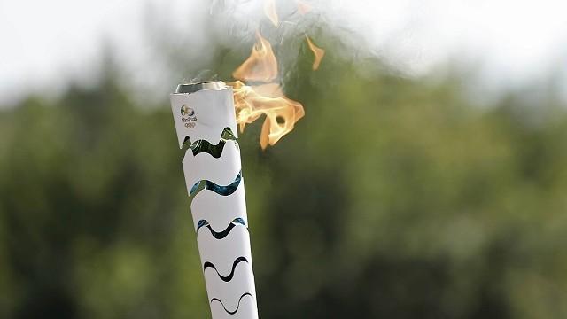 Olimpíadas Rio 2016: Tocha Olímpica usada no revezamento.