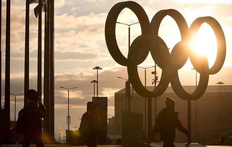 Anéis dos Jogos Olímpicos, em Sóchi