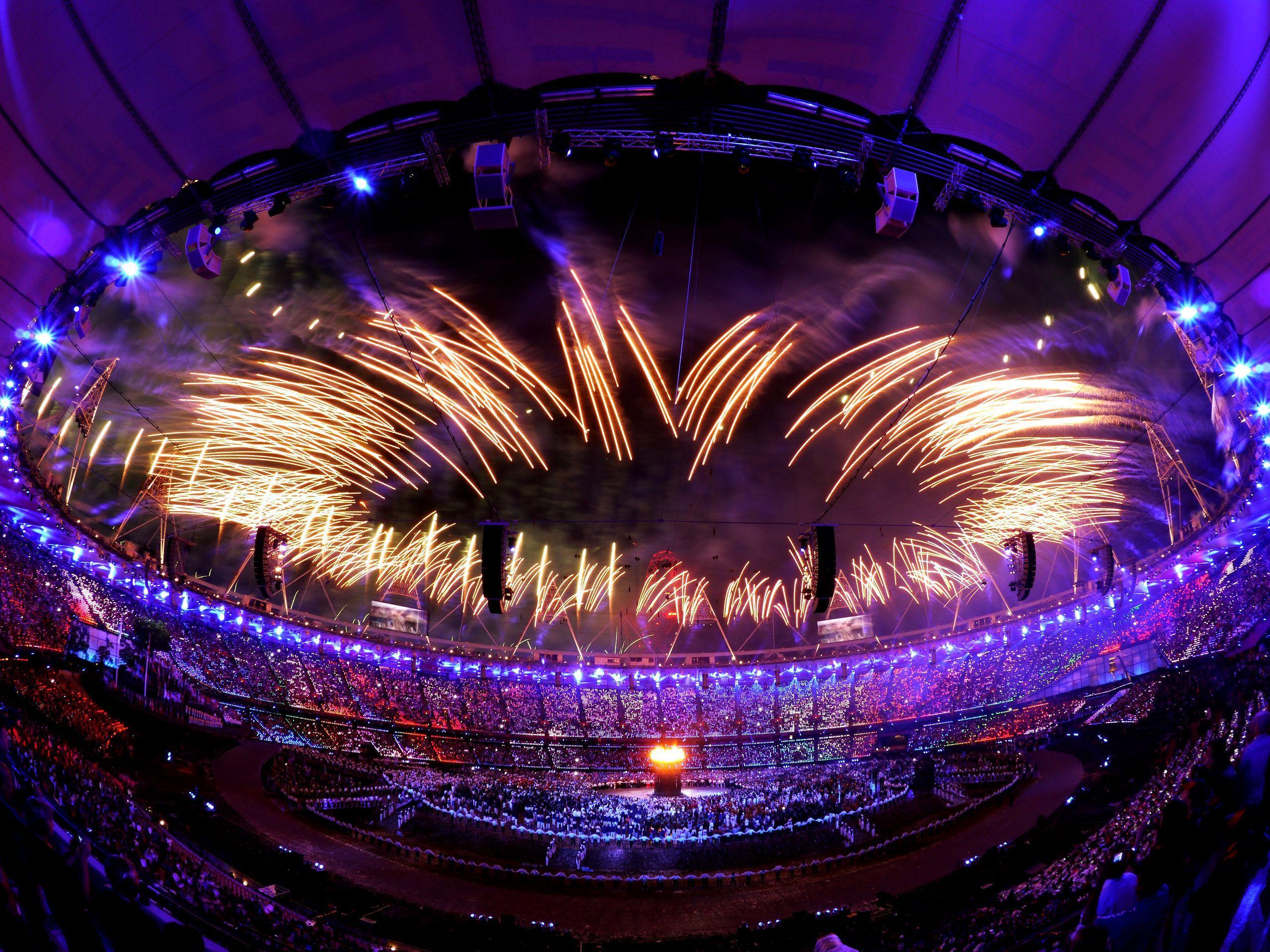 Cerimônia de abertura dos Jogos Olímpicos de Londres, 2012.