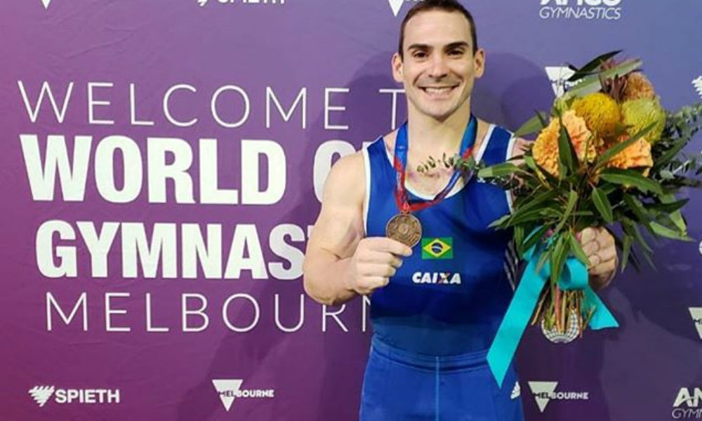 Arthur Zanetti leva medalha de bronze nas argolas em melbourne