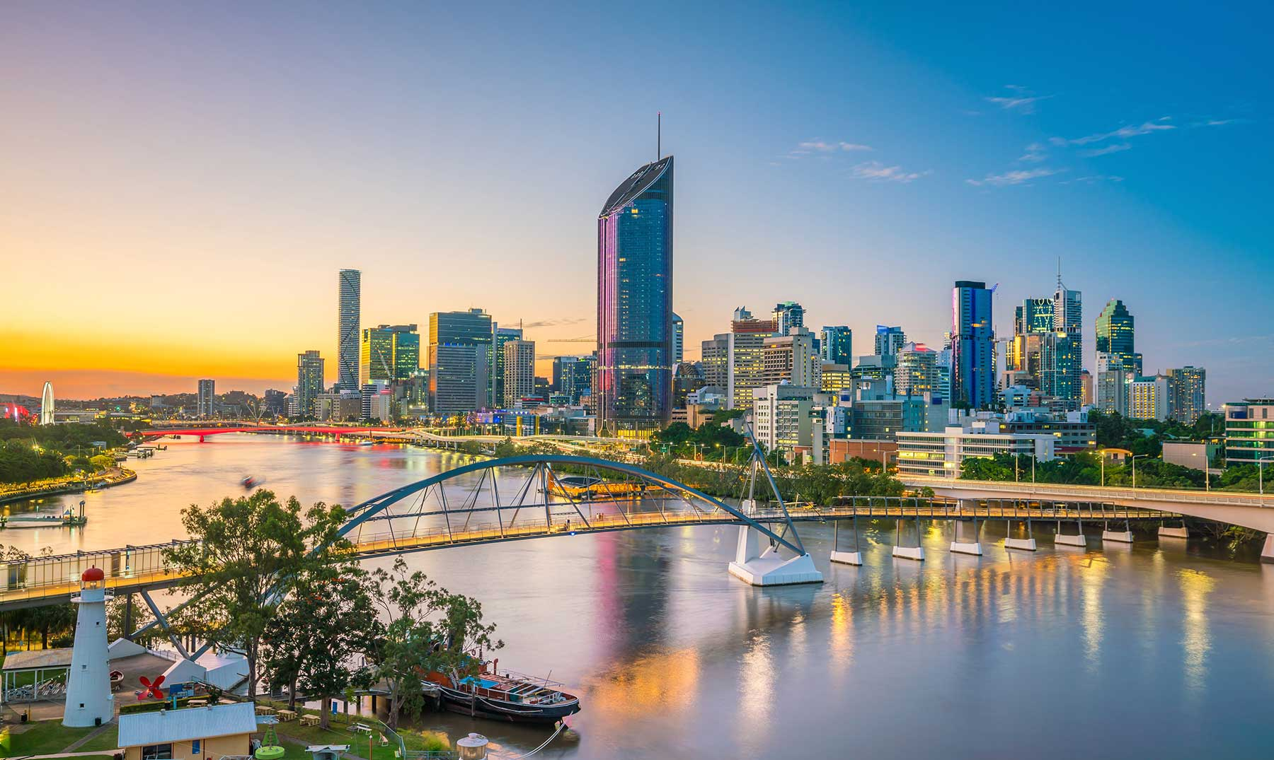 Brisbane quer sediar as Olimpíadas de 2032. (FOTO: Divulgação)