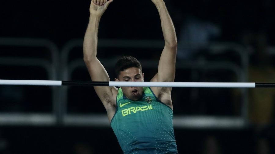Thiago Braz nos Jogos Olímpicos