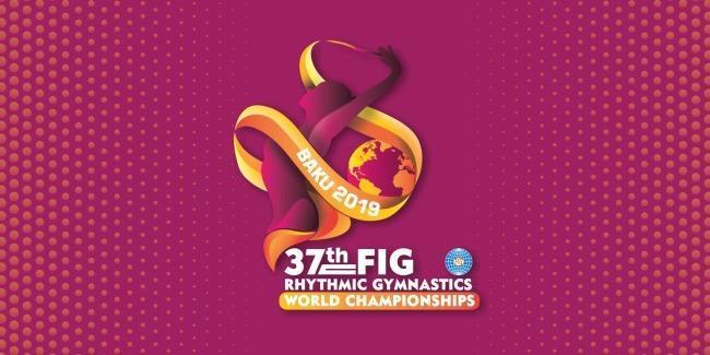Logo do Campeonato Mundial de Ginástica Rítmica de 2019