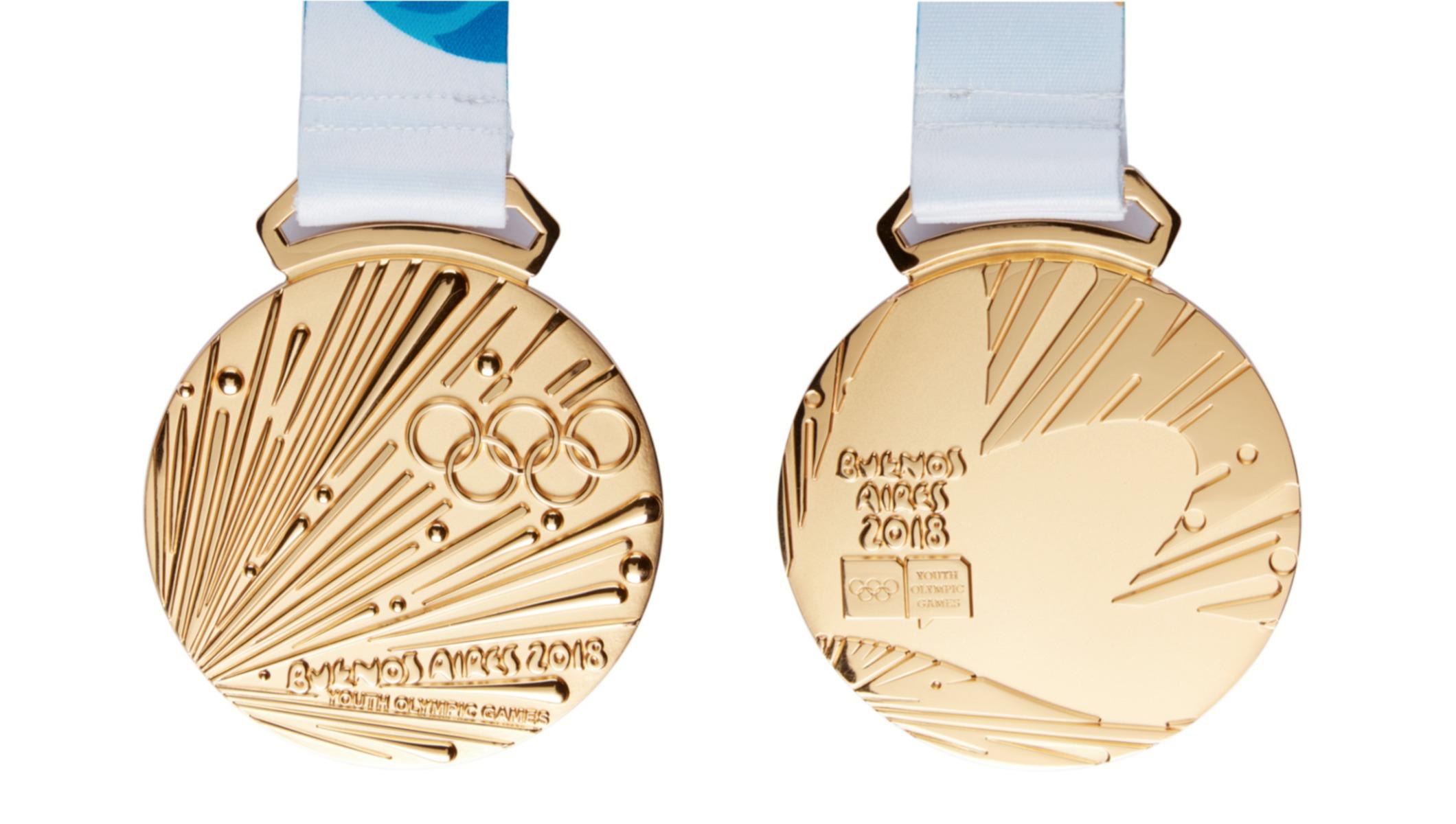 Medalhas de Buenos Aires 2018. Lausanne 2020