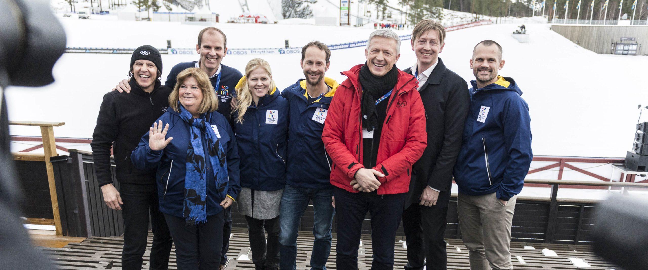 Comitê de Avaliação do COI em Estocolmo, Suécia, para avaliação dos locais de 2026.
