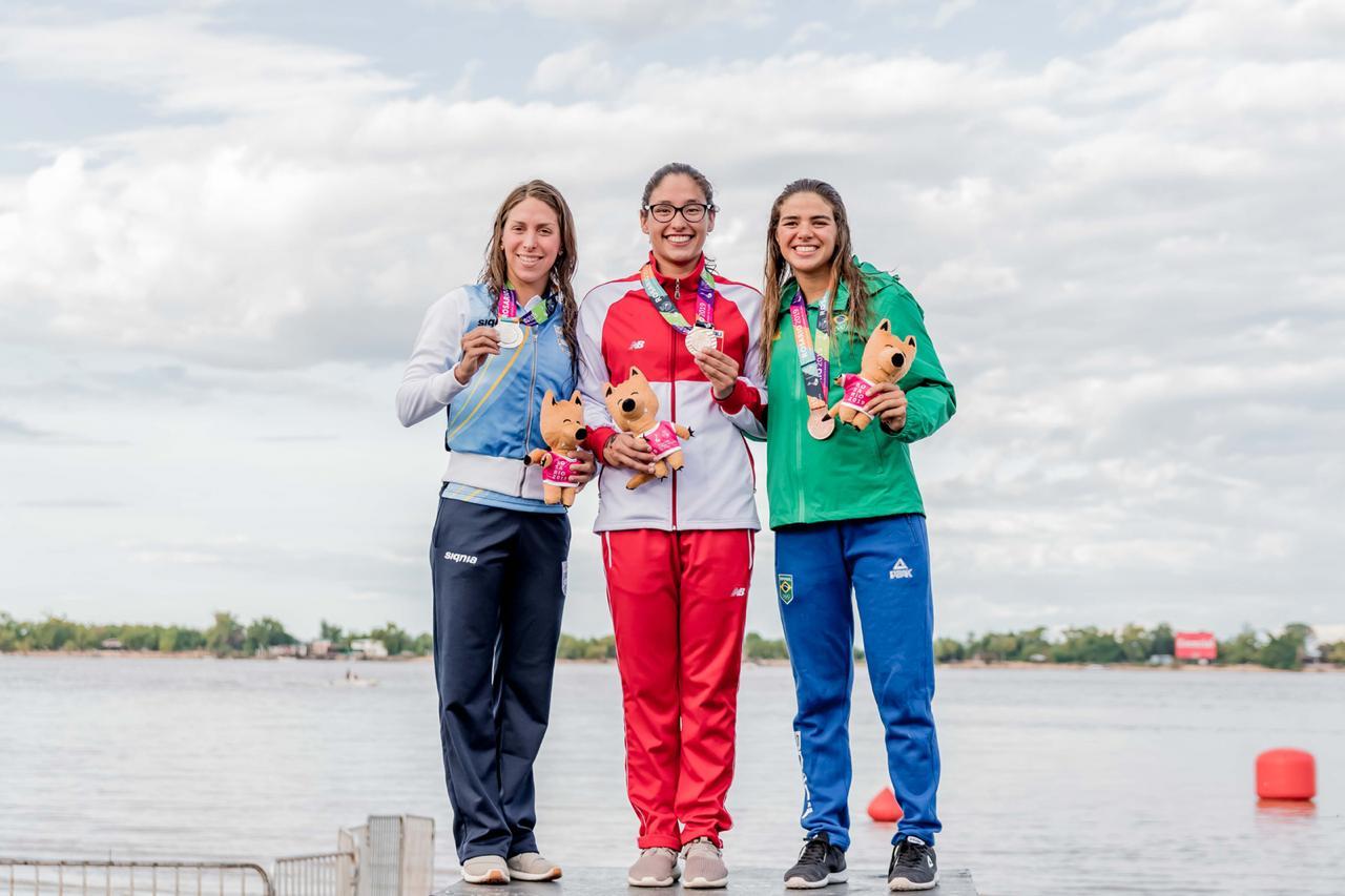 Em Rosário, Arícia Fatzaun Pérée é bronze nos 10km em águas abertas