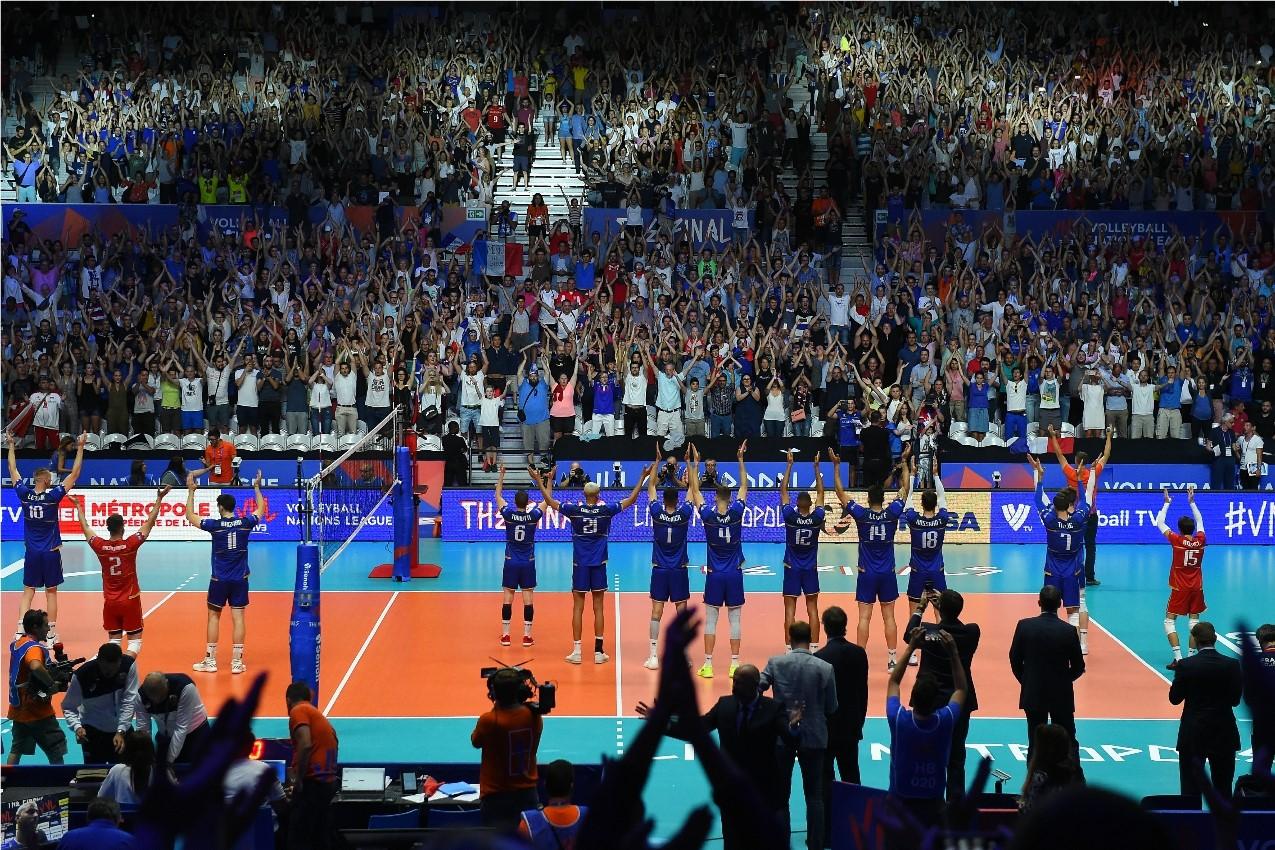 Vôlei: FIVB escolhe Chigago para final da Liga das Nações masculina