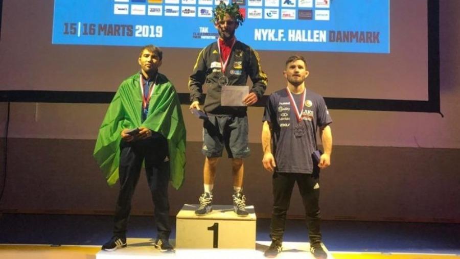 Marat Garipov conquista a prata em torneio na Dinamarca