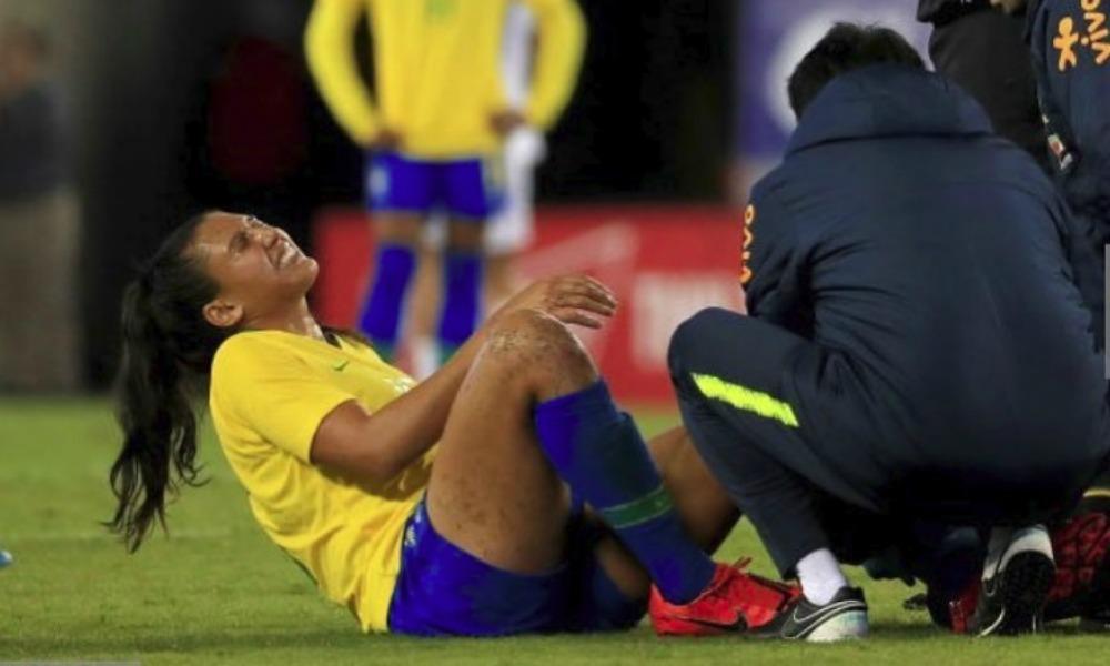 Bia Zaneratto sofre lesão e pode ficar fora da copa