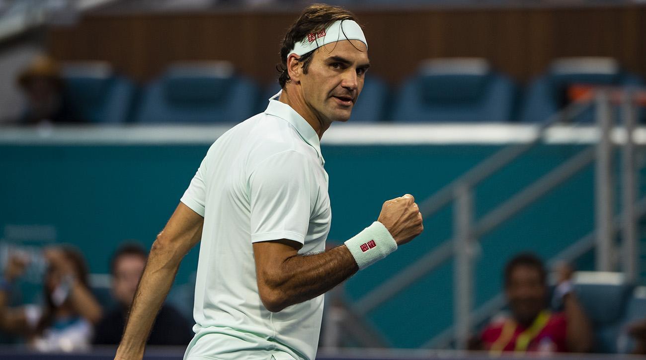 Roger Federer vai à semi no Masters de Miami