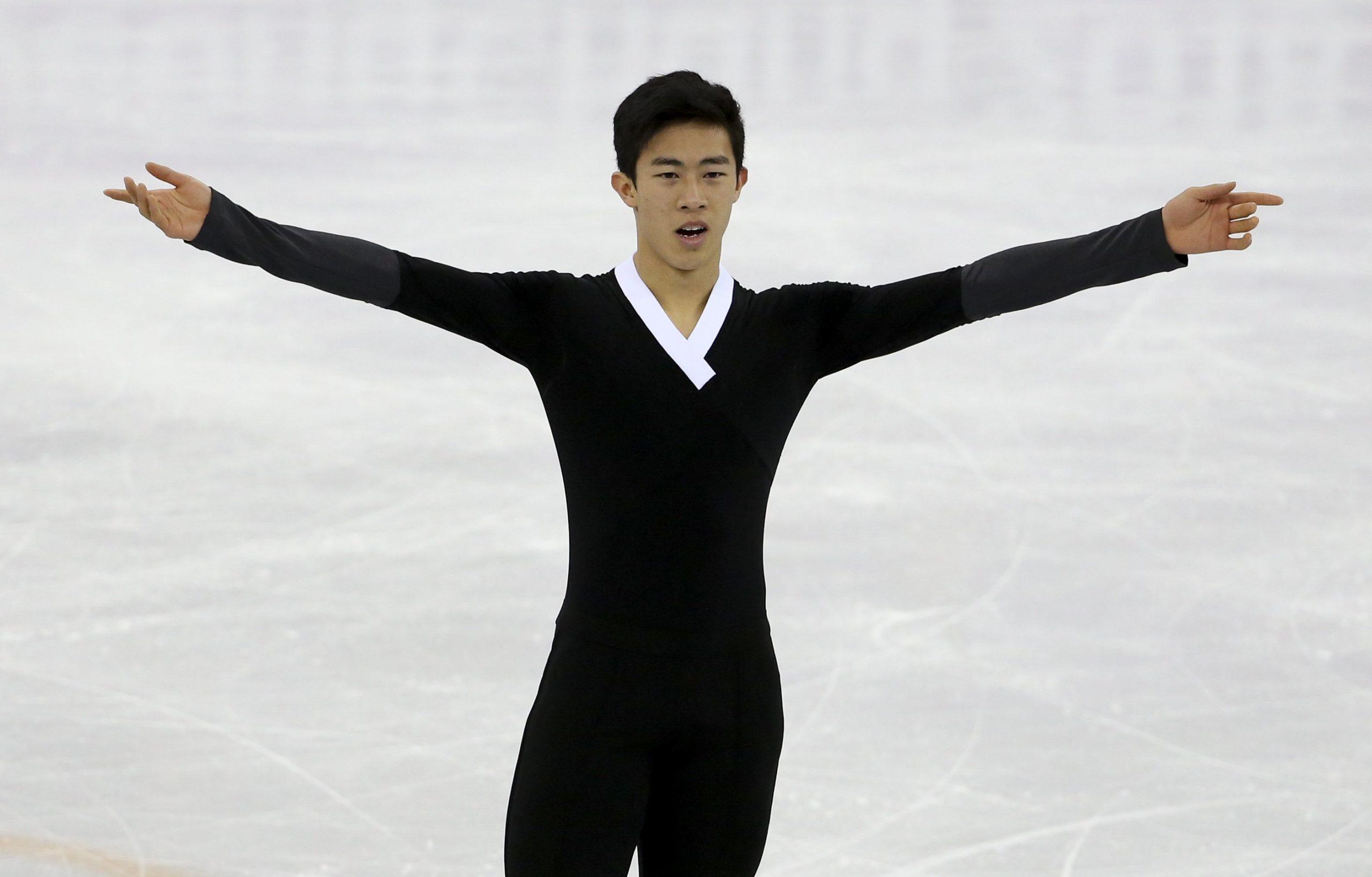 Em Saitama, Nathan Chen lidera após programa curto