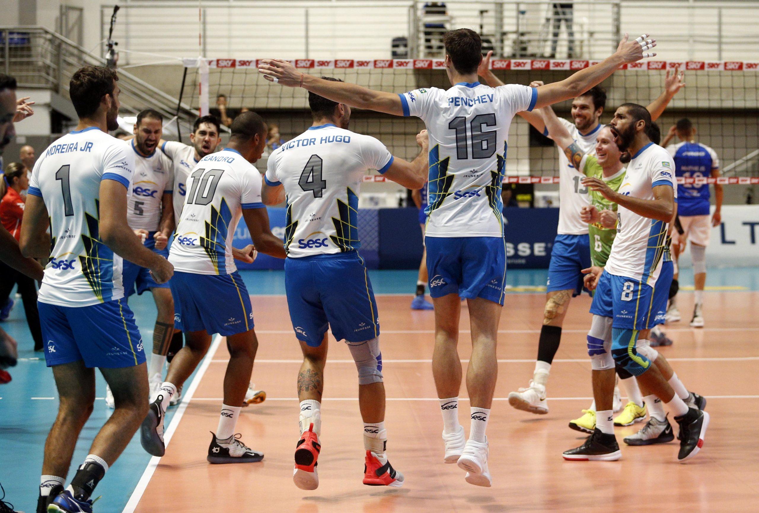 Festa do Sesc RJ, classificado para a semifinal da Superliga