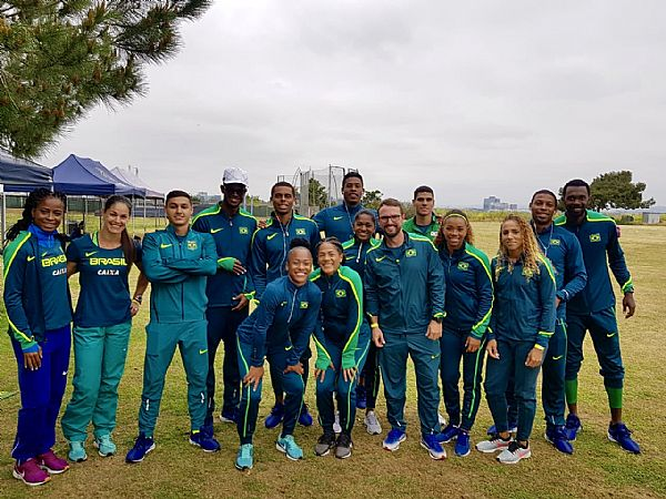 Atletismo: revezamentos do Brasil fazem competição treino nos EUA