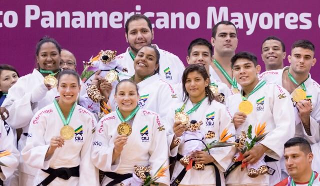 Brasil é campeão Pan-Americano por equipes de judô