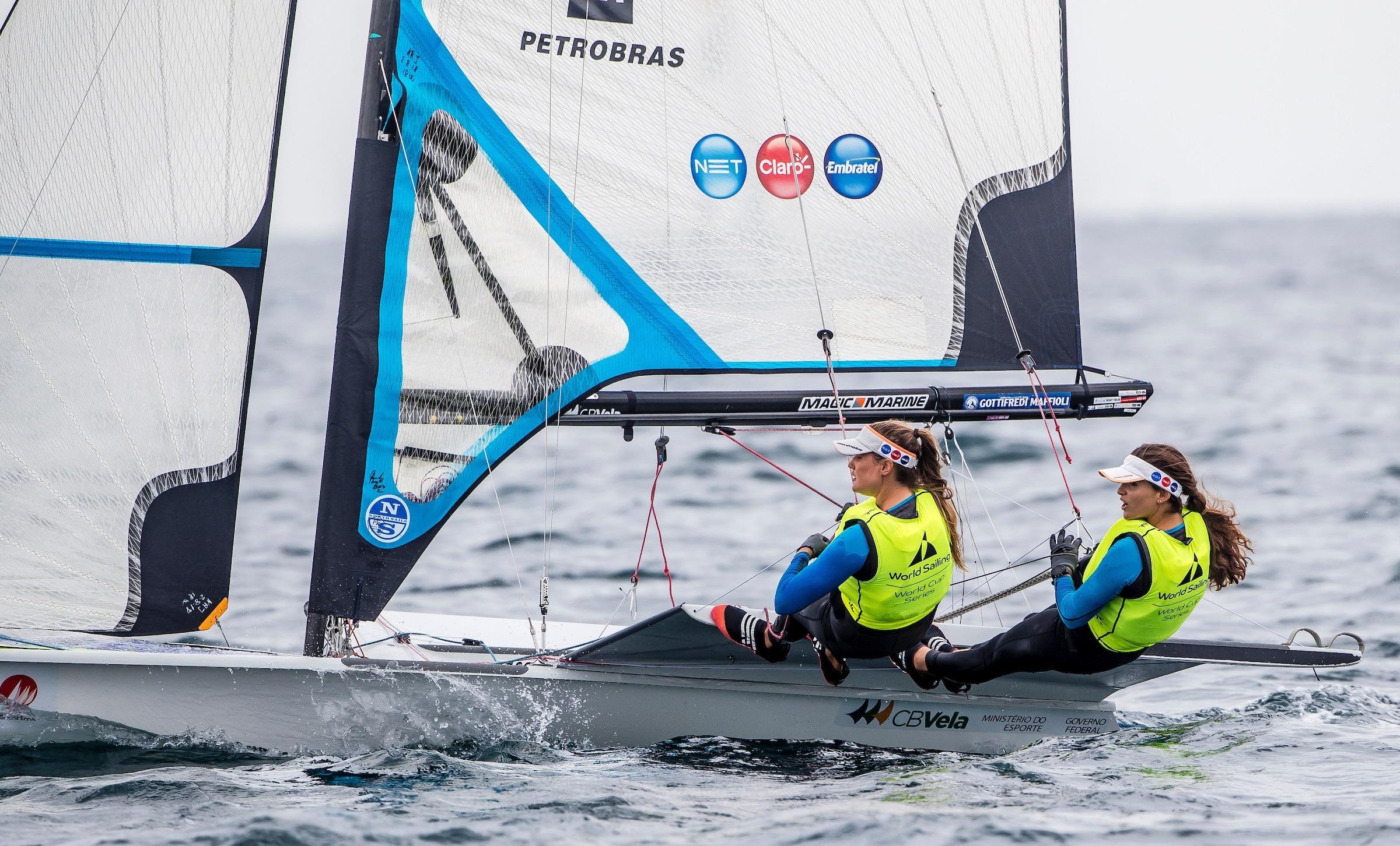 Martine e Kahena disputam medalha em Gênova neste sábado