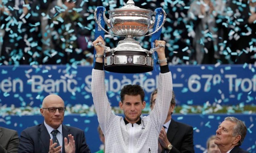 Dominic Thiem vence Daniil Medvedev e conquista o ATP 500 de Barcelona