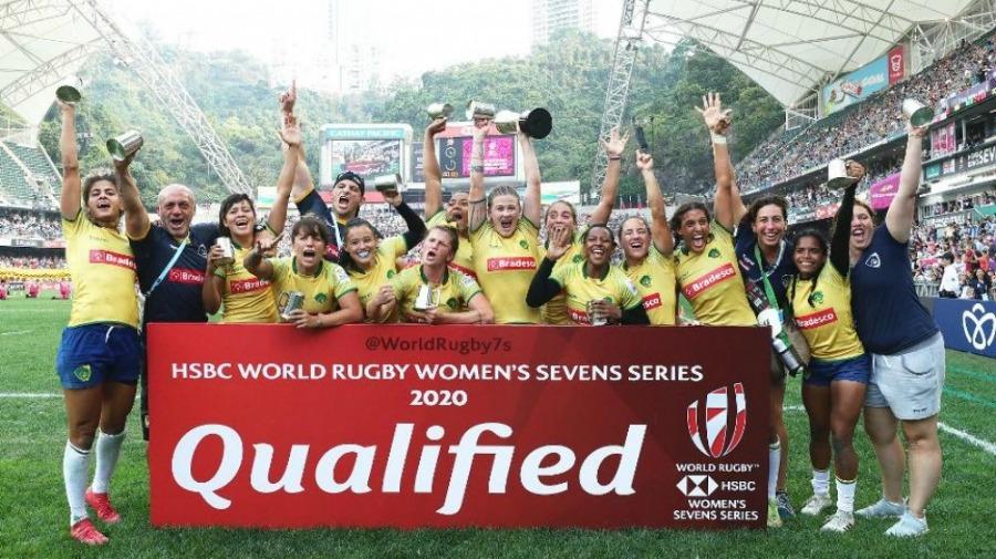 a Seleção Brasileira Feminina de Rugby Sevens conquistou pela primeira vez o título do World Rugby Women's Sevens Series, o famoso Hong Kong Sevens.