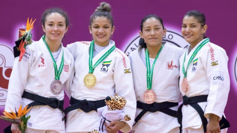 Brasil encerra Pan-Americano de judô com 15 medalhas