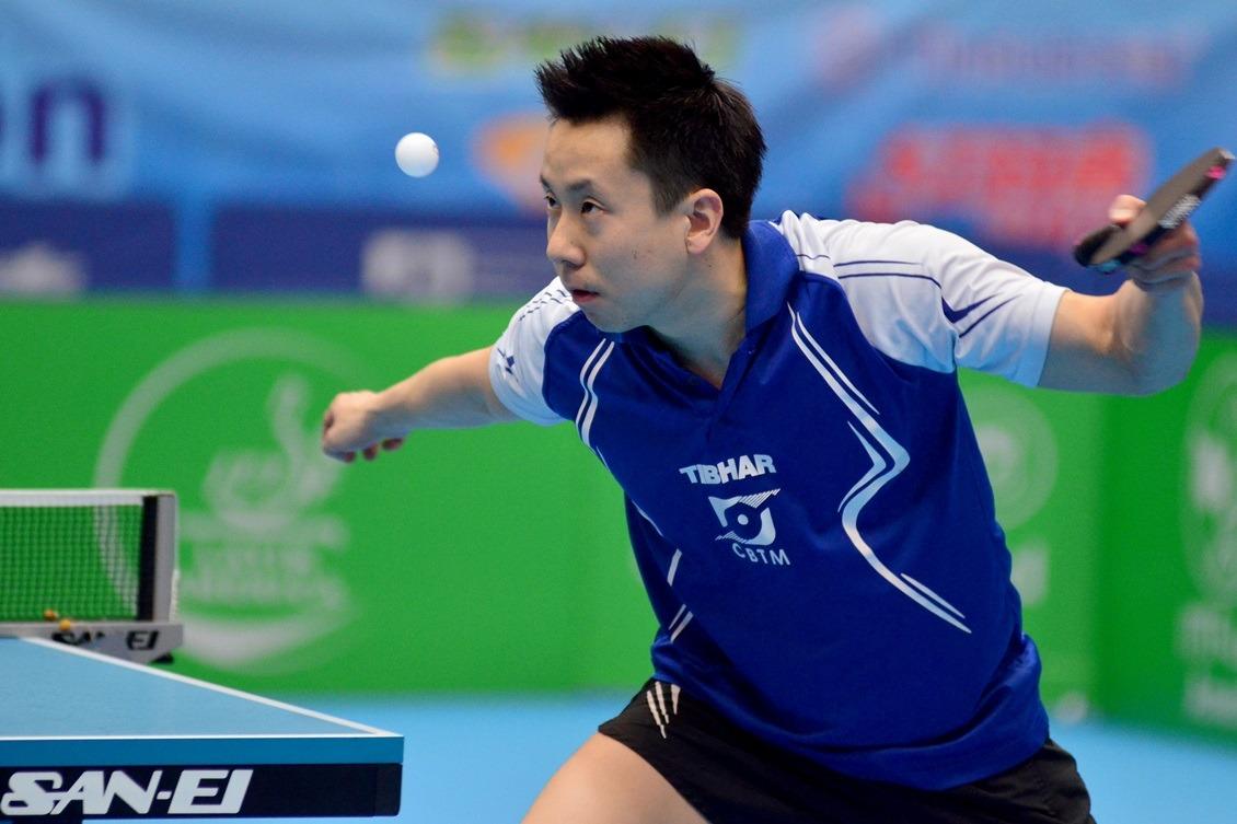 FOTO: Gustavo Tsuboi brilha aos 33 anos. Crédito: ITTF.