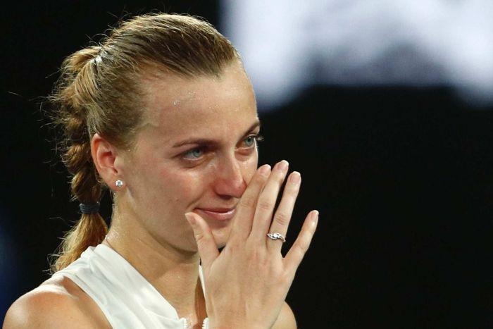 Lesionada, Petra Kvitova desiste de Roland Garros