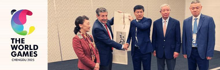 Chengdu é escolhida sede dos Jogos Mundiais de 2025