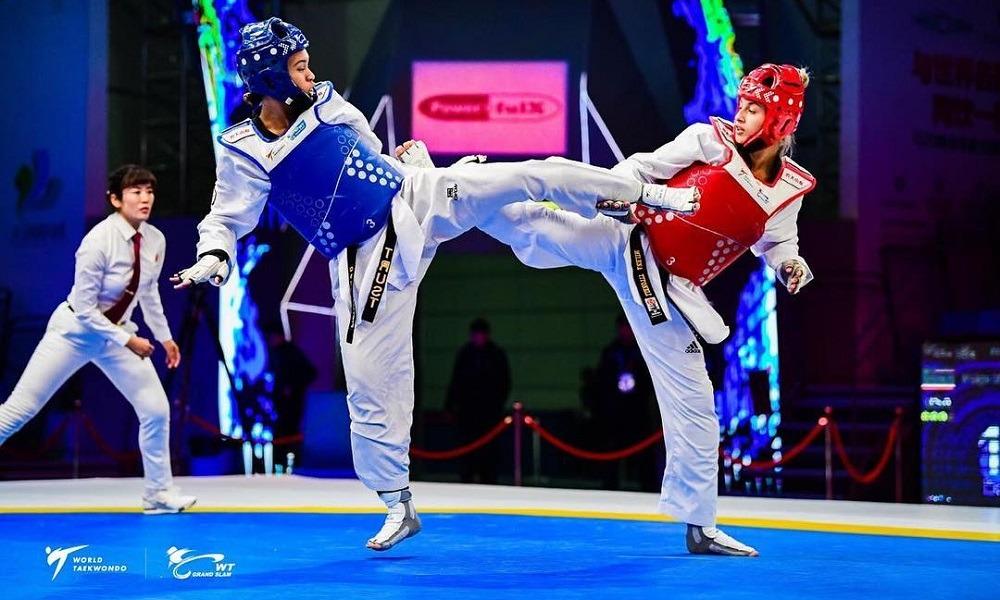 Milena Titoneli conquista a medalha de bronze no mundial de Taekwondo
