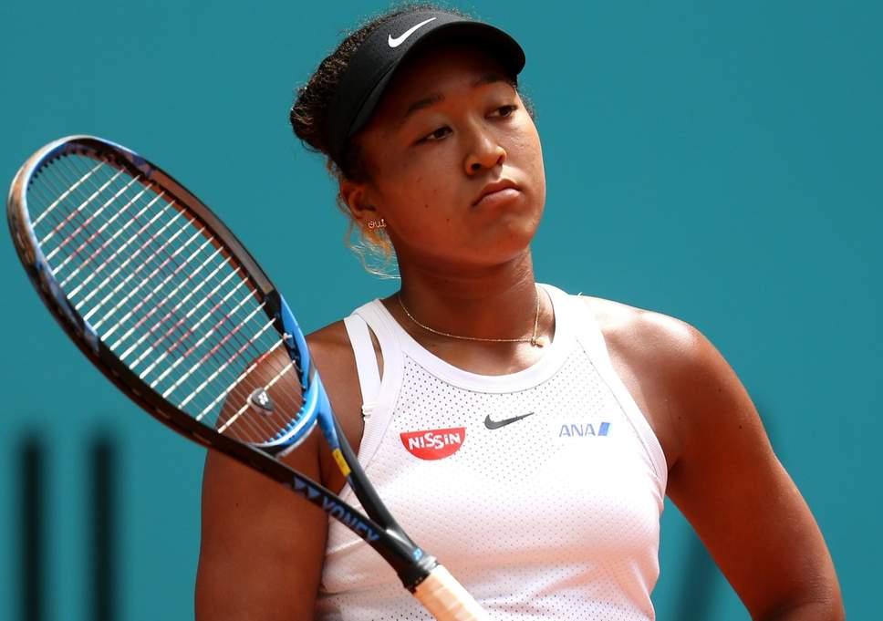 Lesionada, Naomi Osaka abandona Masters 1000 de Roma