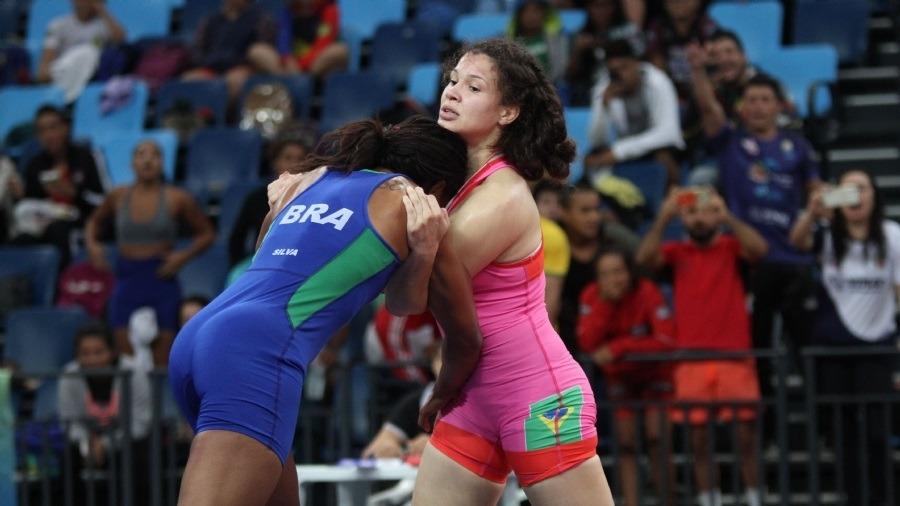 Lais Nunes conquista bronze em importante competição de wrestling na Itália