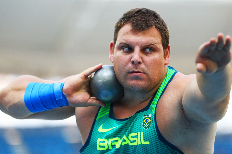 Darlan Romani é campeão sul-americano no arremesso de peso