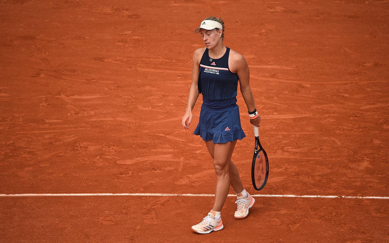 Angelique Kerber perde na estreia e está fora de Roland Garros