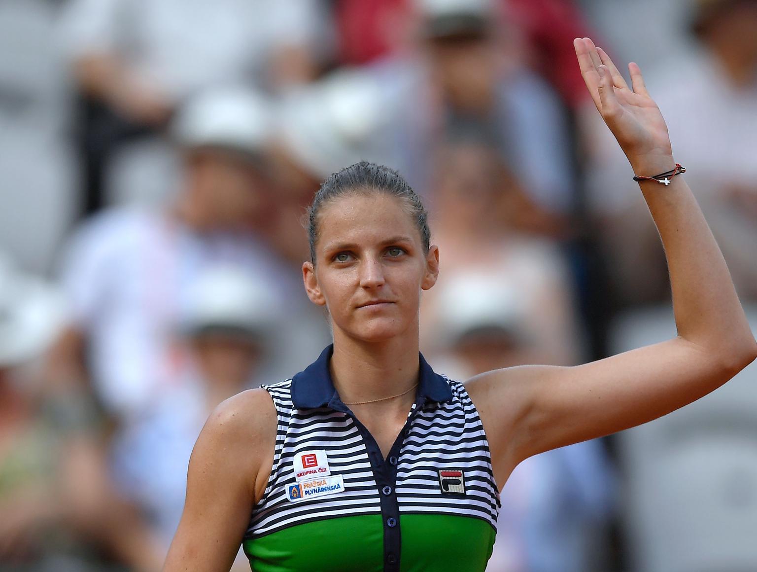 Número 2 do mundo, Karolina Pliskova é eliminada de Roland Garros