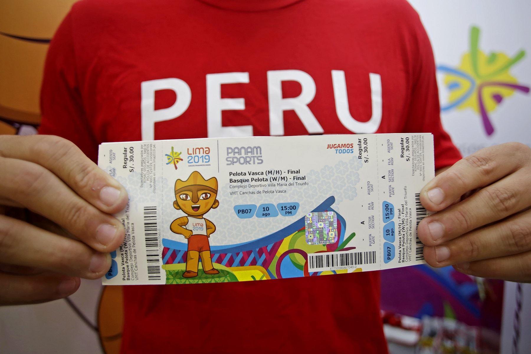 Lima 2019: mais de 100 mil ingressos vendidos