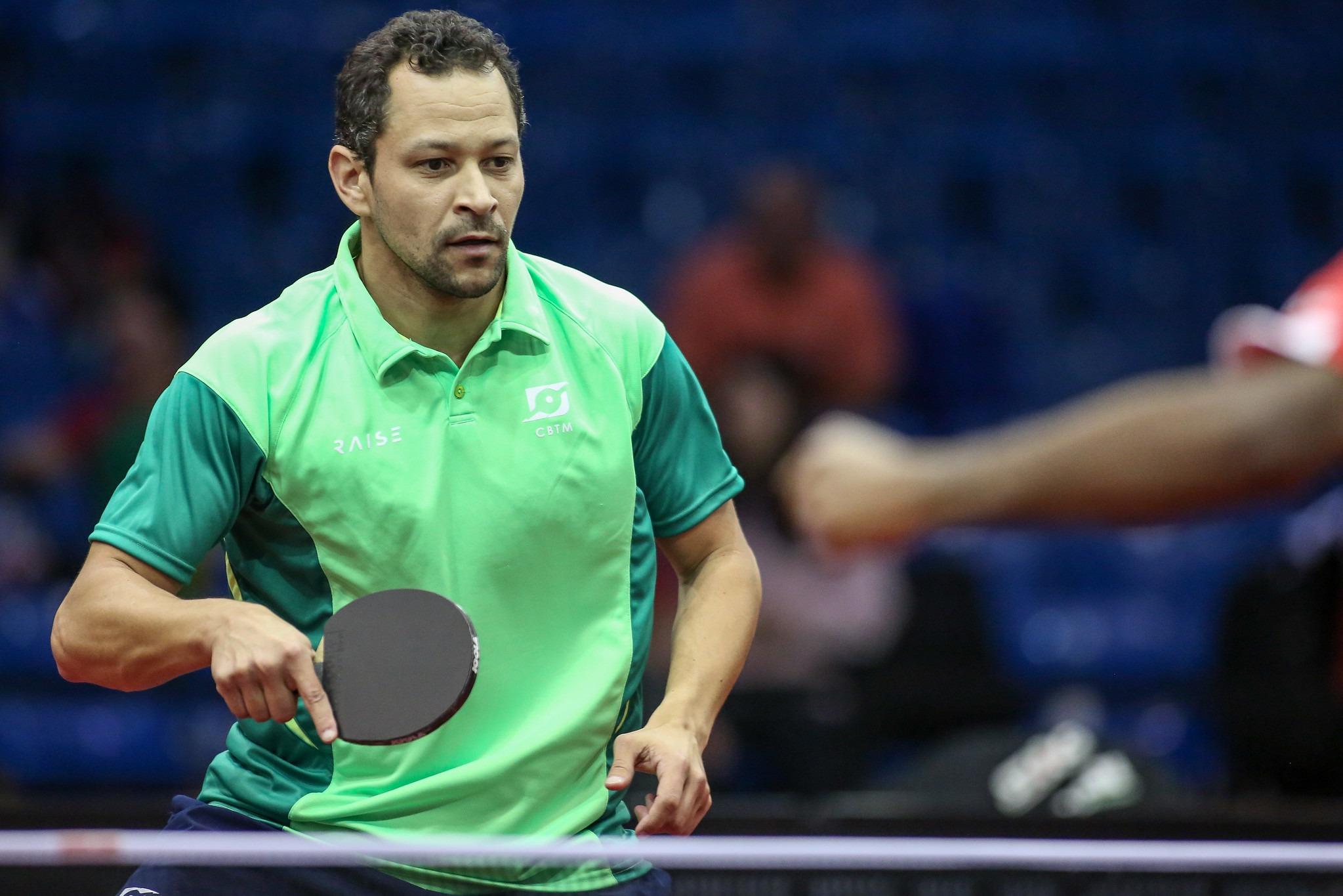 Bruna Alexandre e Thiago Monteiro representarão o Brasil no Pan de tênis de mesa