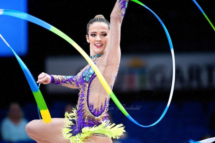 Campeonato brasileiro de ginástica rítmica começa nesta quarta