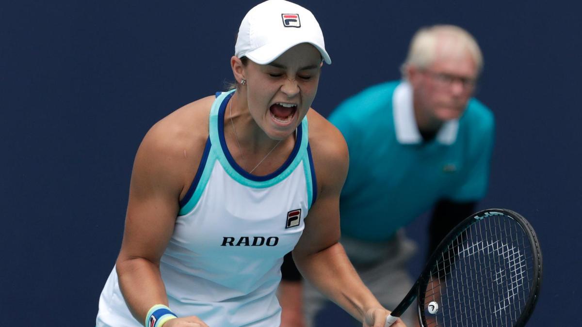 Ashleigh Barty está a uma vitória da liderança do ranking mundial