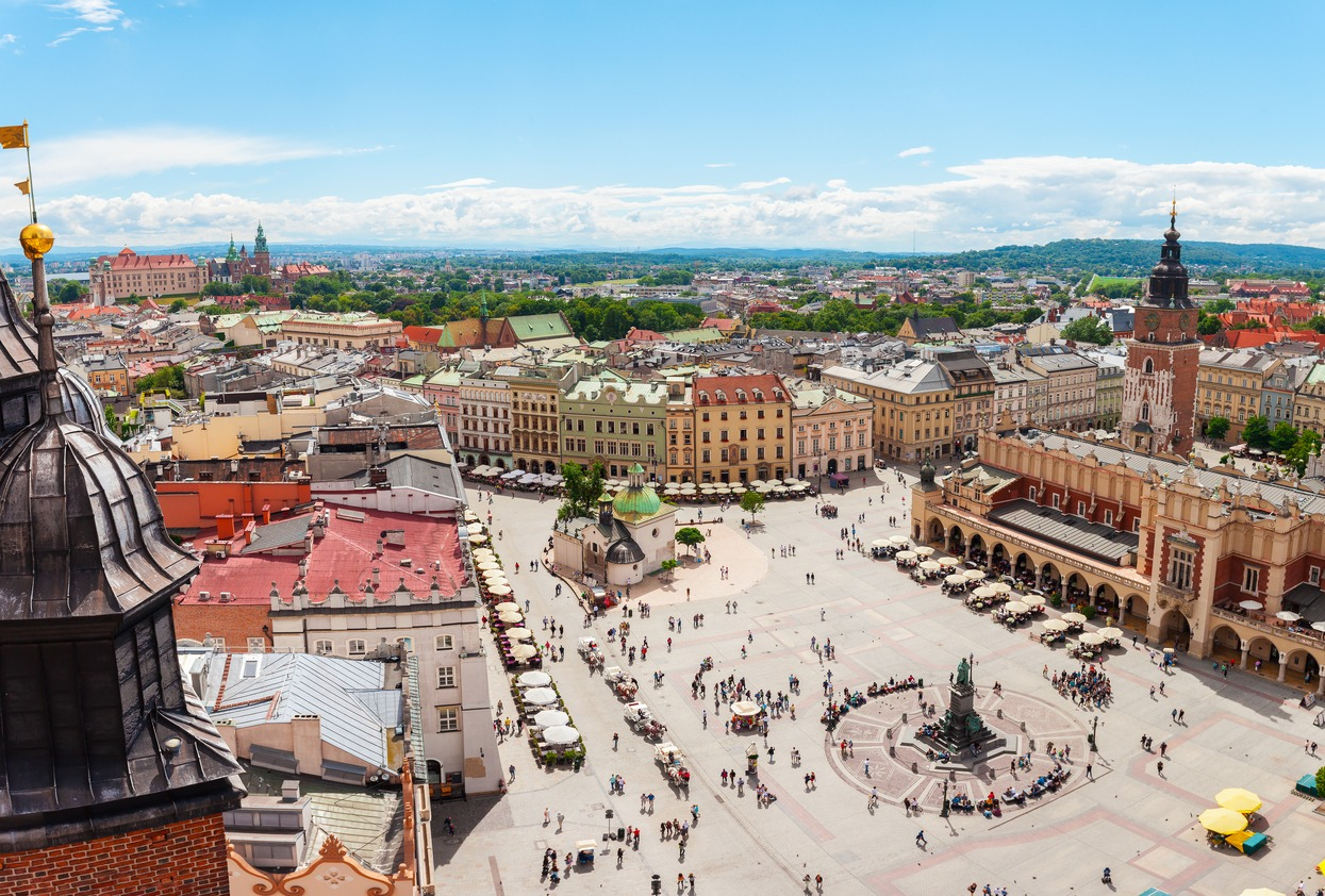 Cracóvia, sede dos Jogos Europeus de 2023