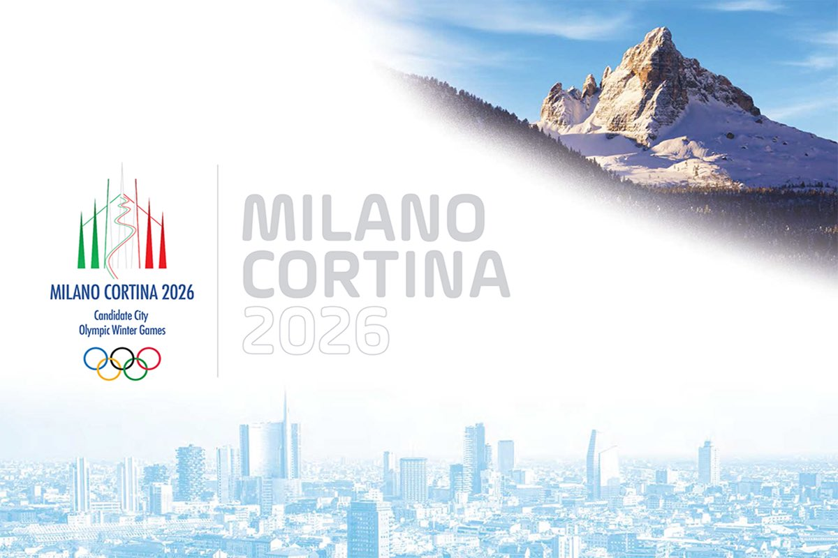 COI escolhe Milão-Cortina d'Ampezzo para sediar as Olimpíadas de 2026