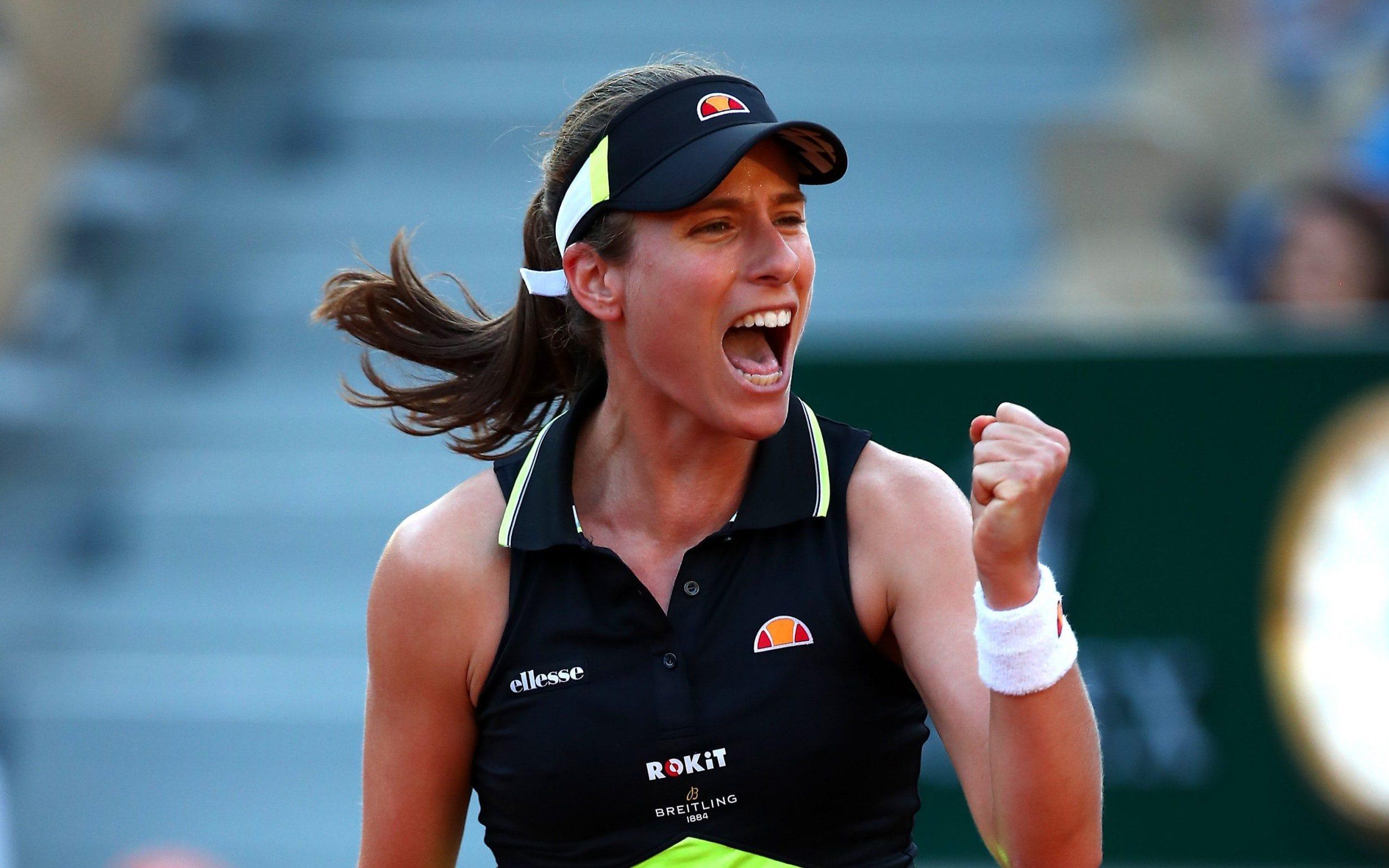 Johanna Konta é a primeira britânica, desde 1983, nas quartas de Roland Garros