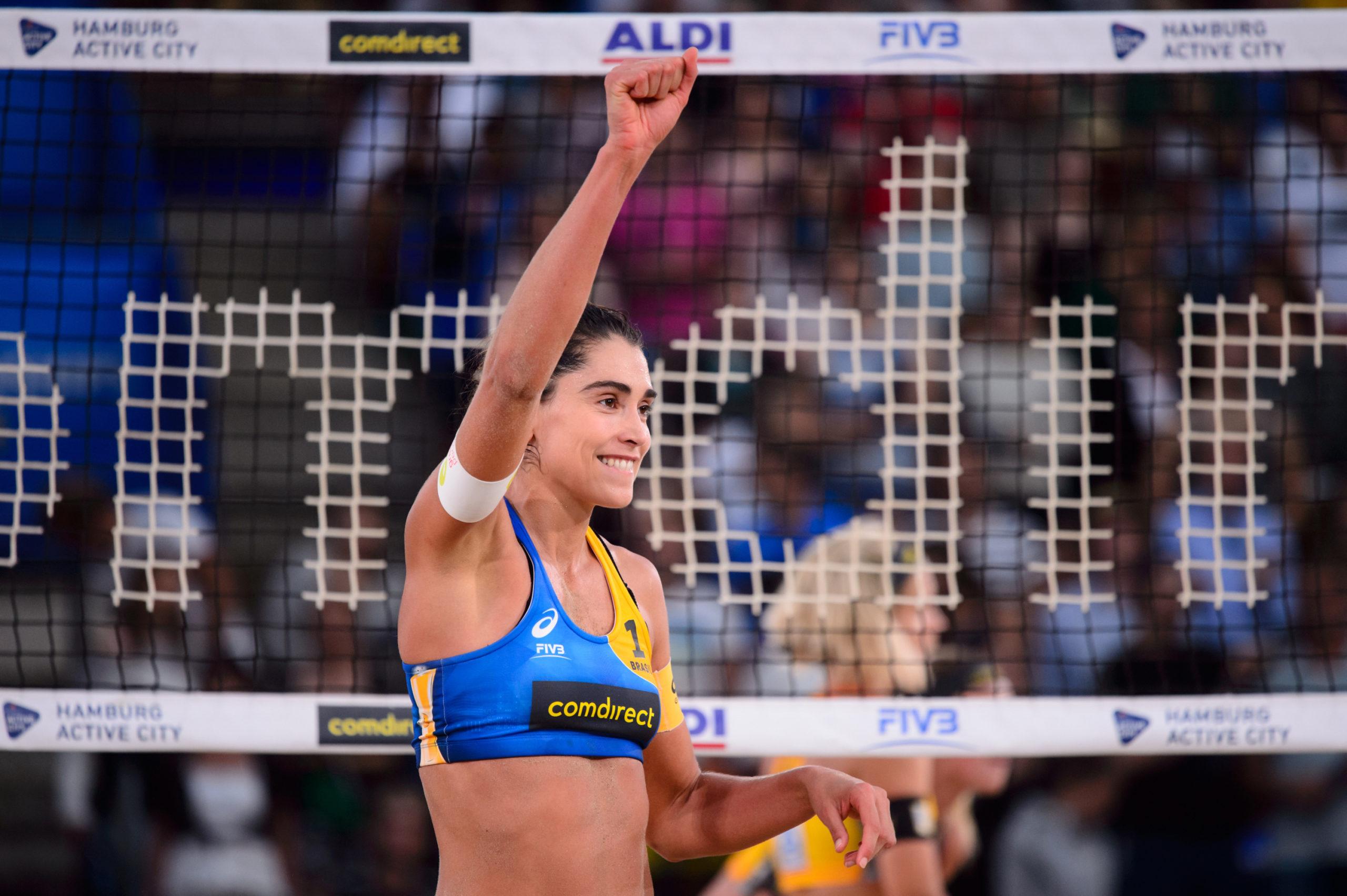 Brasileiras também seguem invictas no Mundial de vôlei de praia
