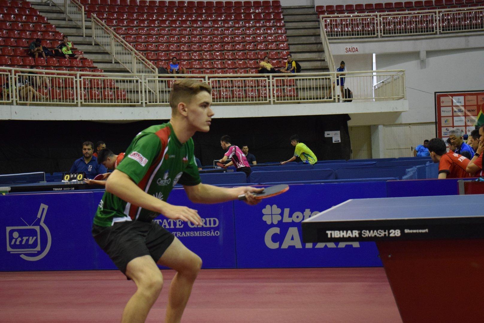 Duplas brasileiras são eliminadas nas quartas do Pan juvenil de tênis de mesa