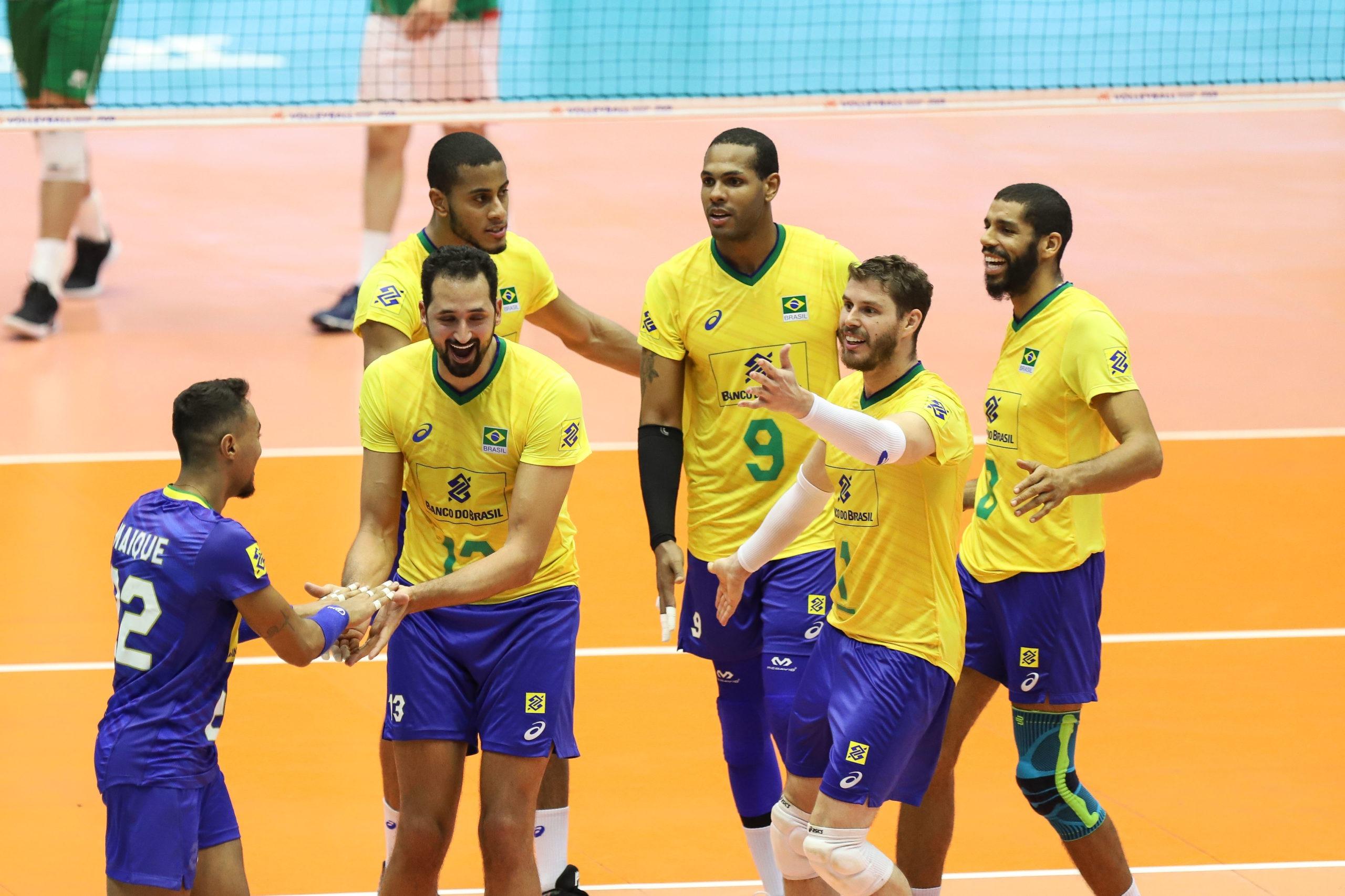 Brasil Derrota Bulgaria E Fica Perto Da Classificacao Na Liga Das Nacoes Agencia Olimpica