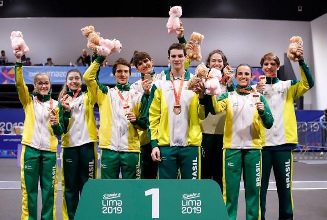 Esgrima: Brasil é campeão do Sul-Americano
