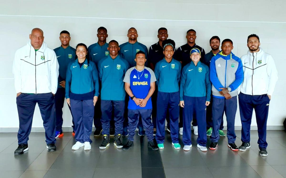 Com foco no Pan, seleção brasileira de boxe treina na Colômbia